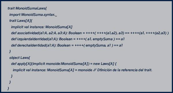 definición monoide Scala